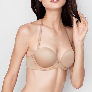 Victoria's Secret Strapless Convertible Nude Bra